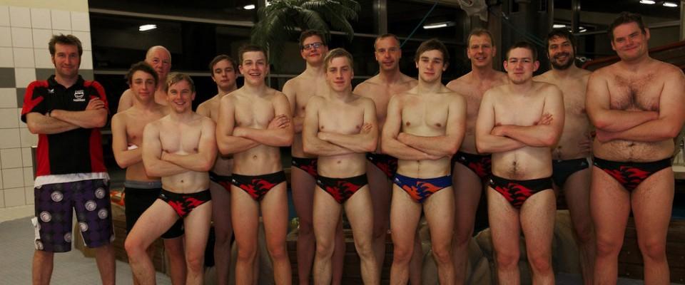 Die 1. Mannschaft des TV Vreden Wasserballs